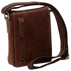 Echt Leder Herrentasche - NW0728 - Leder Taschen New World
