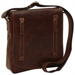 Genuine Leather Man Bag - NW0735 - Leather Bags New World