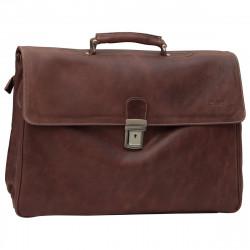 Aktentasche aus Echtleder - NW0740 - Leder Taschen New World