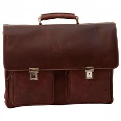 Aktentasche aus Echtleder - NW0743 - Leder Taschen New World