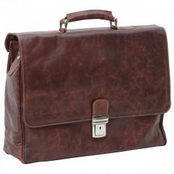 Aktentasche aus Echtleder - NW0878 - Leder Taschen New World