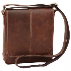 Echt Leder Herrentasche - NW4404 - Leder Taschen New World