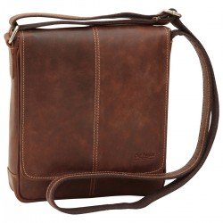 Genuine Leather Man Bag - NW4404 - Leather Bags New World