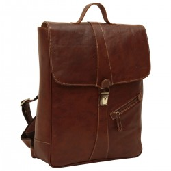 Genuine Leather Backpack - NW4051 - Leather Bags New World