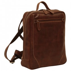 Genuine Leather Backpack - NW4052 - Leather Bags New World