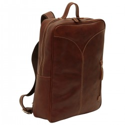 Genuine Leather Backpack - NW4053 - Leather Bags New World