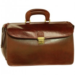 Genuine Leather Doctor Bag - TLB0920 - Luxury - Leather Bags Toscana
