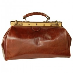 Genuine Leather Doctor Bag - TLB0848 - Luxury - Leather Bags Toscana