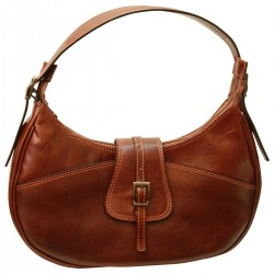 Genuine Leather Women Bag - TLB0695 - Luxury - Leather Bags Toscana