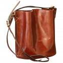 Genuine Leather Women Bag - TLB2054 - Luxury - Leather Bags Toscana