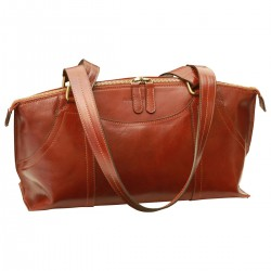 Genuine Leather Women Bag - TLB4087 - Luxury - Leather Bags Toscana