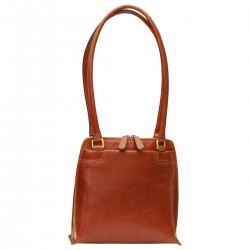 Genuine Leather Women Bag - TLB4088 - Luxury - Leather Bags Toscana