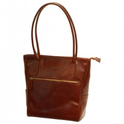 Genuine Leather Women Bag - TLB4089 - Luxury - Leather Bags Toscana