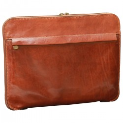 Genuine Leather Document Case - TLB0568 - Luxury - Leather Bags Toscana