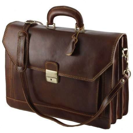 Genuine Leather Briefcase - 0005 - Luxury