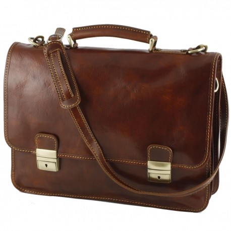 Leather Business  Briefcase - 0009 - Luxury