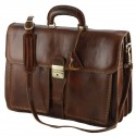 Genuine Leather Briefcases - 0015 - Luxury
