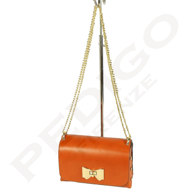Women's Shoulder Bag - 1078 - Genuine Leather Bags - Made in Italy