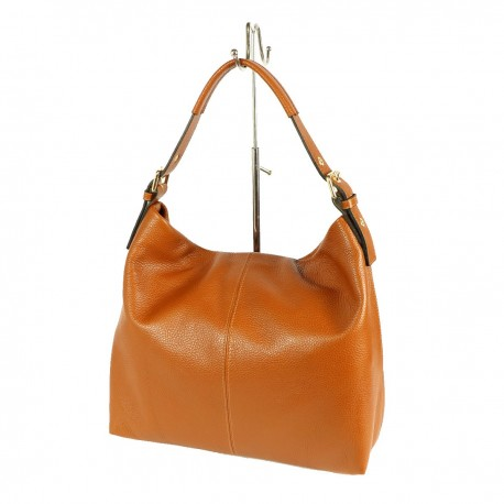 Leather Shopper Bag - 1032 - Genuine Leather Bags