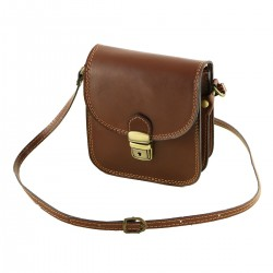 Leather Man Bag - 2042 - Mens Shoulder Bags