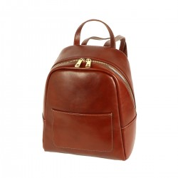 Leather Backpacks - 3019 - Genuine Leather Bag