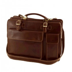 Genuine Leather Briefcases - 4012 - Genuine Leather Bag
