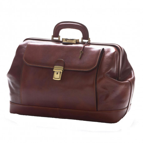 Genuine Leather Doctor Bag - 0018 - Luxury