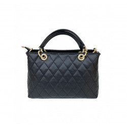 Women's Handbags - 1085 - Small - Leather Shoulder Bag