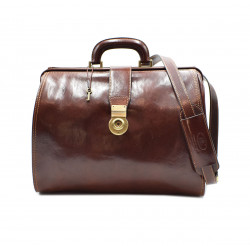 Genuine Leather Doctor Bag  - 0207 - Made in Italy