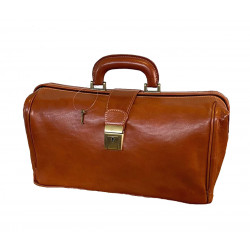 Medical Leather Bag - 5001 - Genuine Leather Bags