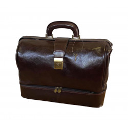 Medical Bag Leather - 5002 - Genuine Leather Bags