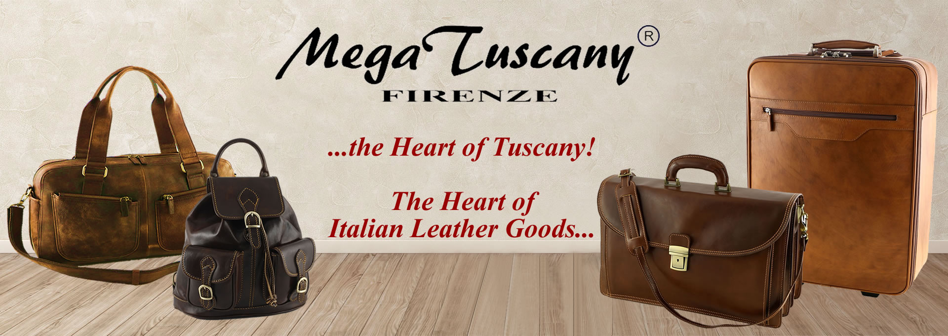 Mega Tuscany Leather Bags